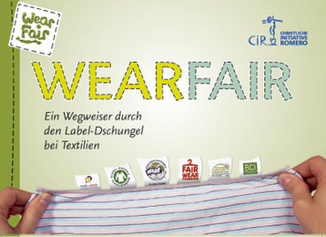 Cover des Waer Fair Labelguide